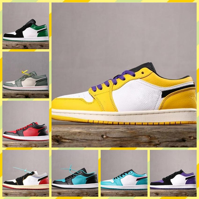 NIKE LOW 1 OG GS X-Men scarpe da basket a buon mercato Obsidian ASG UNC Crimson Tint Fearless Retroes Banned 1s Scarpe Chicago Donne Bianco Grigio Sport
