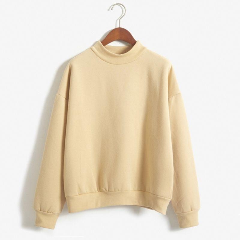 Womens Hoodie roupa das mulheres Atacado sólidos bonito Mulheres capuz 9 cores 2019 Brasão Outono Inverno solto velo malha camisola Feminino 3XL