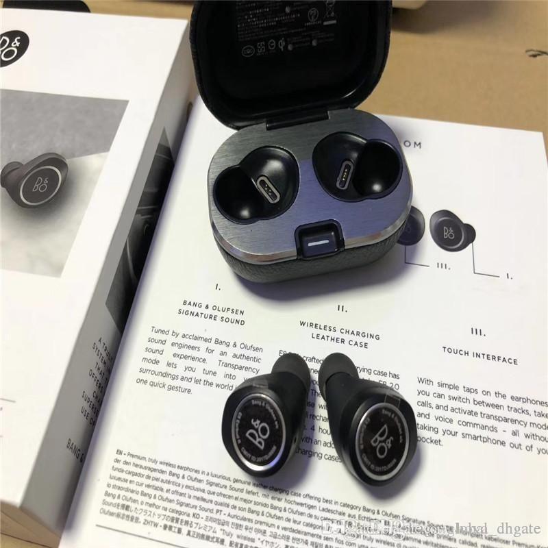 Kablosuz kutu Car şarj ile Popüler BO E8 2.0 Turly kablosuz bluetooth kulaklık 16 saat spor müzik kulaklığı oyun zamanı