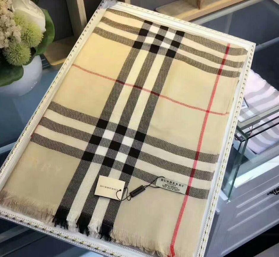 Alta qualità plaid classico formato lunga sciarpa 180x70cm signore cadono 2019 sciarpa calda cotone sciarpa scialle a quadri