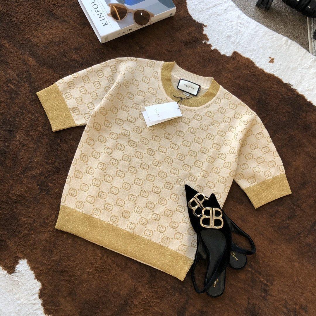 Tasarımcı Kadınlar Gömlek 2020 Yaz moda gömlek tişörtleri Ücretsiz favori yeni listeleme Parti çekicilik K8HL WY1I WY1I nakliye bahar