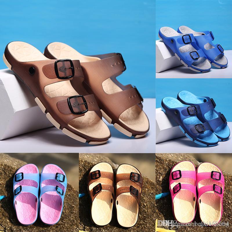 Brand Designer flip flops Slippers light rubber Men women Couple Summer Beach Flip Flops men sandals Light slipper Non-slip Slippers
