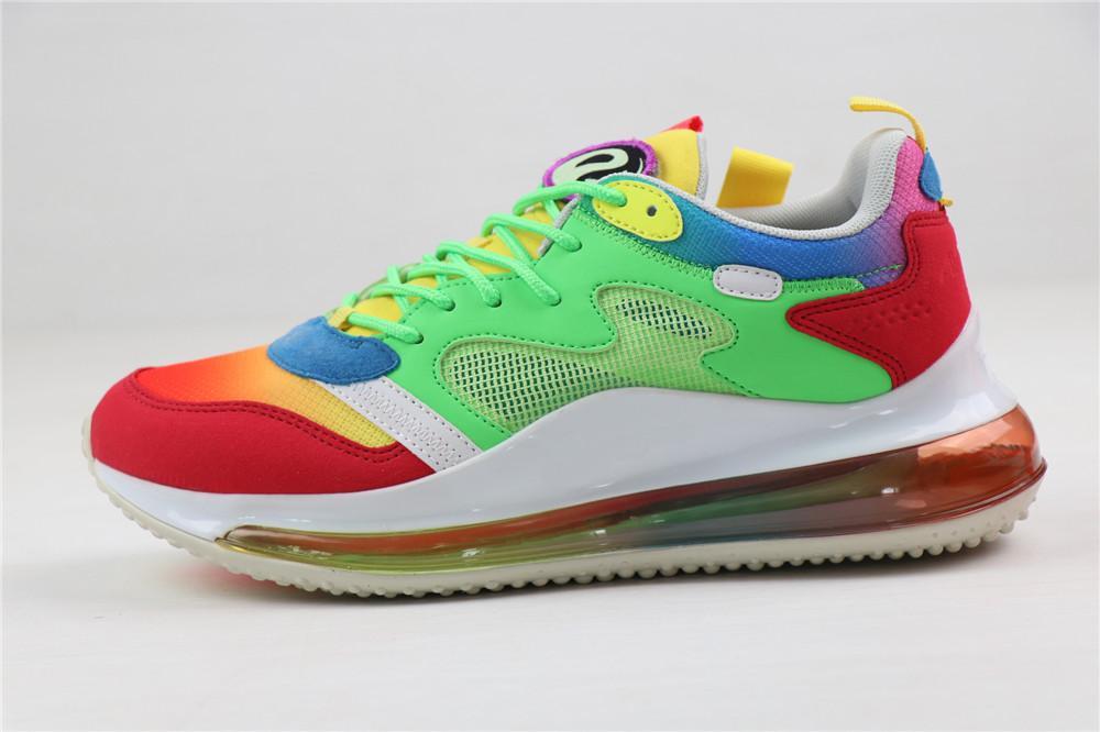 Luftschuhe Herren Designerschuhe Netz Mode voll gepolsterten chaussures zapatos betrue neon Mannentwerfers Turnschuhe Trainer Sportschuhe laufen