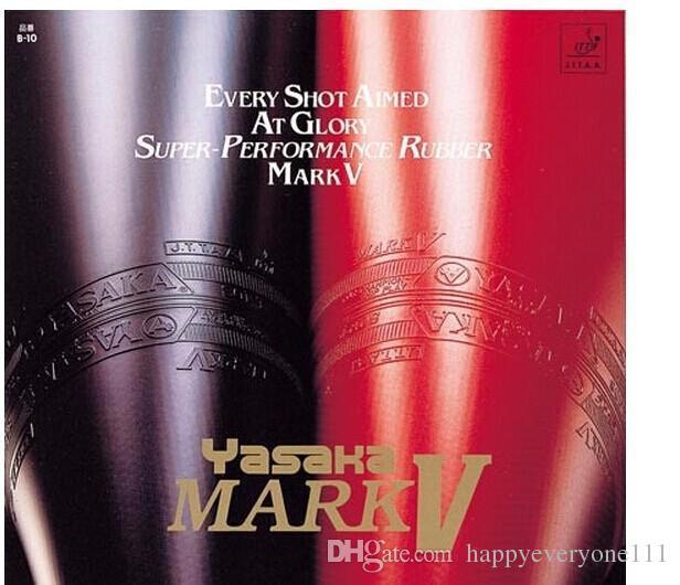 الحرة الشحن ياساكا MARK V تنس الطاولة المطاط / بينغبونغ المطاط البثور في لتنس الطاولة بليد / مضرب