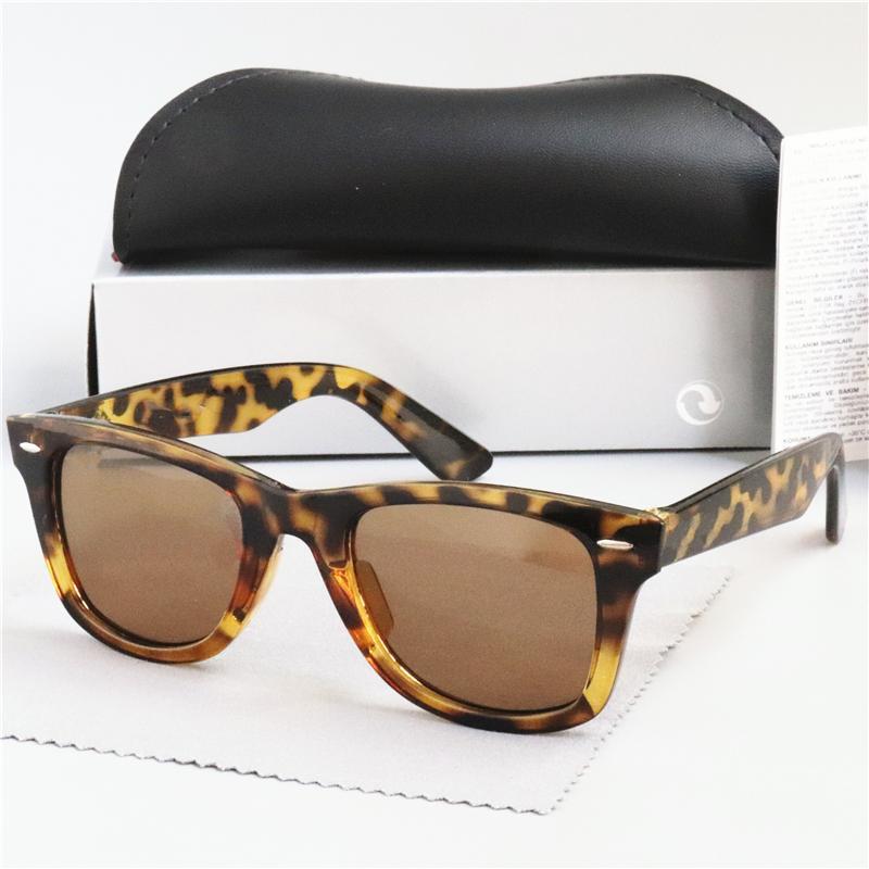 54 millimetri di vendita calda di disegno di marca degli occhiali da sole polarizzati UV400 Banda delle donne degli occhiali da sole Polaroid Eyewear lente Uomini Pilot Vintage Occhiali da Sole