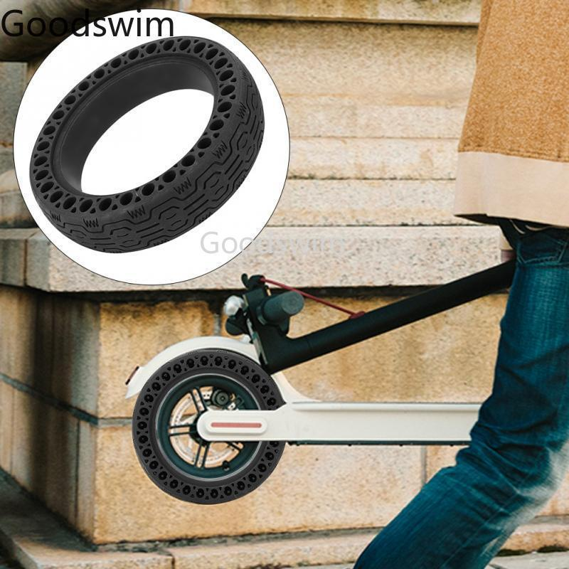 Damping Solid Tyre For Xiaomi M365 M187 Scooter Skateboard Non-Pneumatic Tires Anti-Explosion Tubeless Solid Tyre