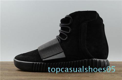 scarpe 19designer Kanye West 750 stivali Light Grey Brown scarpe da ginnastica nere scarpe da basket Triple 750 scarpe da basket jogging T05 scarpa