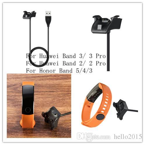 استبدال المغناطيسي USB شاحن لهواوي الشرف باند 5 4 3 النسخة القياسية الذكية الاسورة حوض مهد الكابل لهواوي النطاق 3 برو برو 2