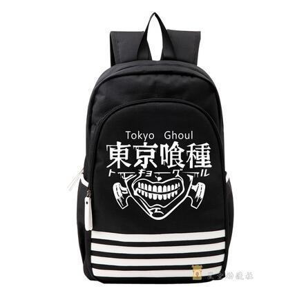 Hombro Tokio Ghoul Cosplay Oxford luminoso mochila escolar del estudiante Bolsa Teentage portátil de viaje Mochila regalo