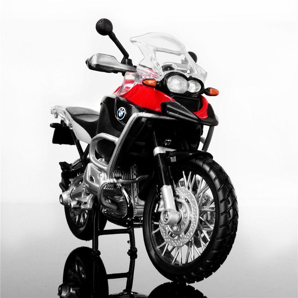 مايستو 1:12 R1200GS المعدنية دييكاست ميني موتو سباق السيارات النادرة مصغرة نماذج لعب الاطفال بنين من هدية دراجات نارية للطفولة J190525