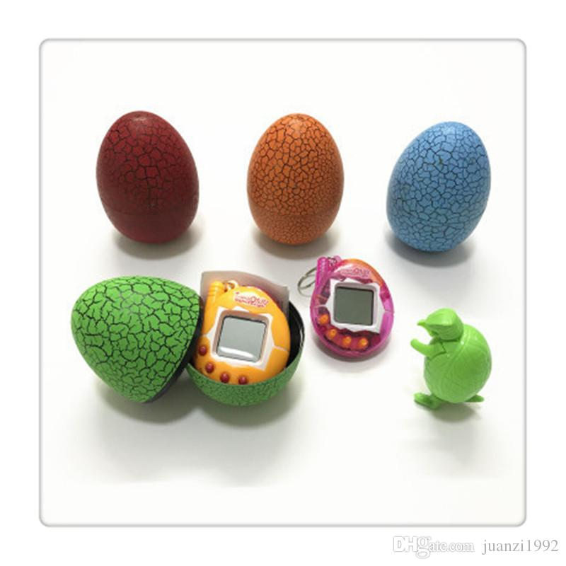 New Egg Toys Virtual Cyber Digital Game Players Pet Puzzle Games Pet Toys Electronic Pets Toys Tumbler Cracked Egg Toy