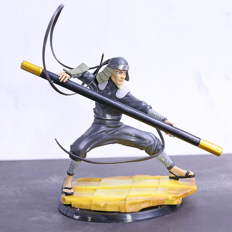 Naruto Shippuden Hokage Hiruzen Sarutobi estatua PVC modelo de la figura de juguete Figuras MX200319