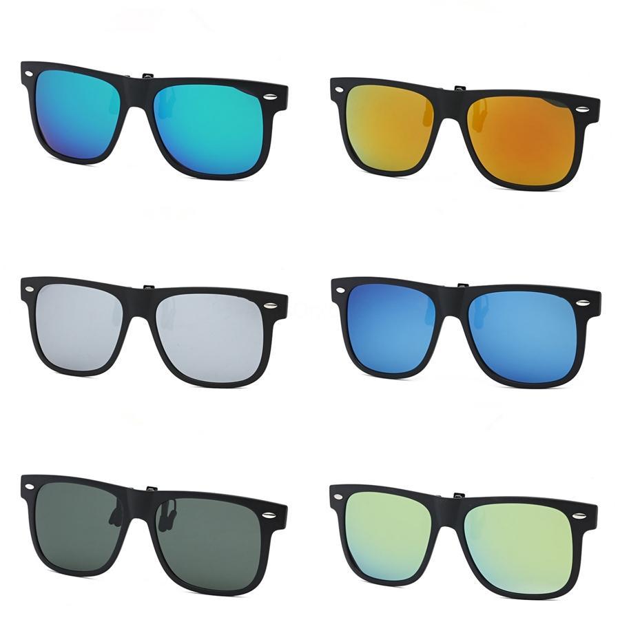 Hot TR90 Sunglasee unisex TR90 Sunglasee Rivet TR90 Sunglasee Retro colori unisex punk Geek Style vetri liberi dell'obiettivo To593 # 20115