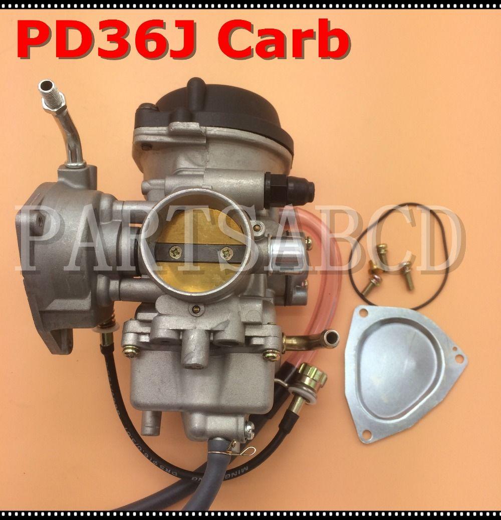 PARTSABCD 36mm PD36J Karbüratör ATV UTV 350cc 400cc 500CC Carb Assy