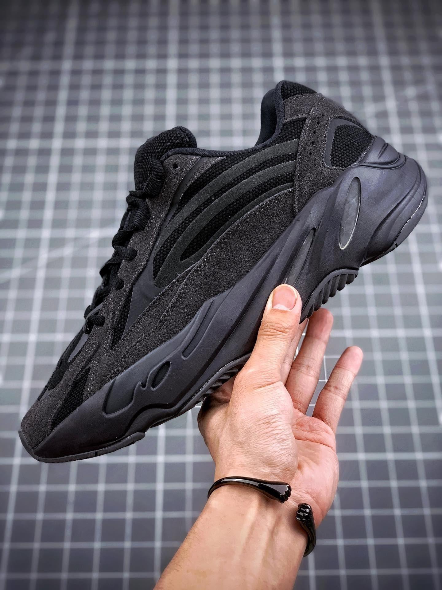 2019 700 2 3 Оптовая V Vanta Волна Бегун Kanye West Черный M Светоотражающие Работает Мужчины Женщины Спортивная Обувь На Открытом Воздухе