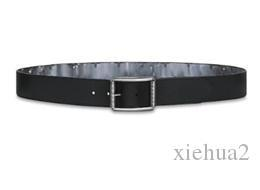 Black Flower MO. ECLIPSE REVERSO 40MM CEINTURE RÉVERSIBLE M0132 ou ceinture de coton, Désigner client Produit