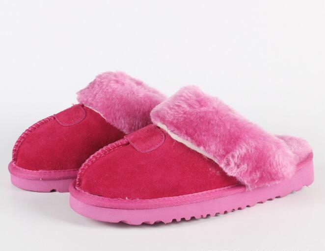 Горячие Продаем новые Австралийские классические сапоги теплые хлопка мужчин и женщин тапочки коровьей Баотоу dlippers Snow Boots Рождественский подарок размер 34-45