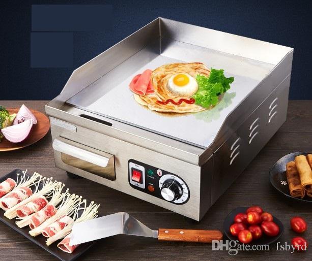 elettrico Commerciale piastre Taiwan teppanyaki barbecue Attrezzature Barbecue 013