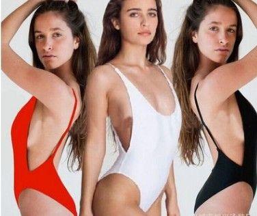 Atacado de alta qualidade baixo preço 3 pçs / lote Sexy lady's Conjoined Bikini Swimsuit swimwear das mulheres 12 gf