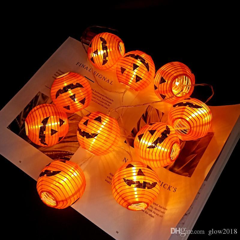 Grosshandel Kurbis 10 Led Schnur Licht Halloween Deko Licht 1 5m Seil Fee Licht Lampe Laterne Helloween Dekoration Gartenweihnachtsdekoration Von Glow2018 3 65 Auf De Dhgate Com Dhgate