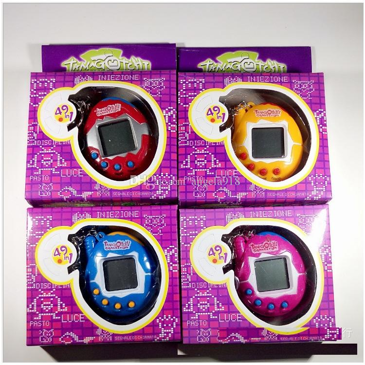 Hot 90S Nostalgic 49 Pets in One Virtual Cyber Pet Toy Funny Tamagotchi New Br