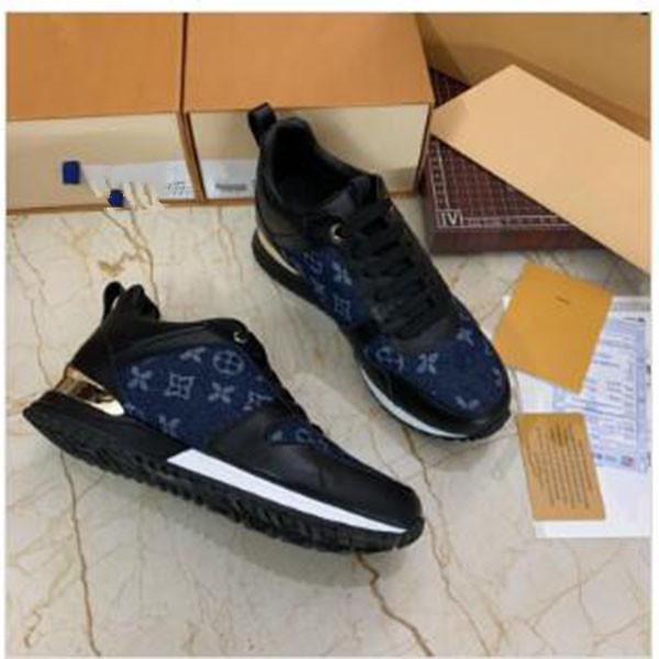 Louis Vuitton LV Mode Hommes Femmes Designer Chaussures Speed Chaussures de luxe Entraîneur Plate-forme Sneakers Casual Triple Chaussettes de sport plates Sneakers