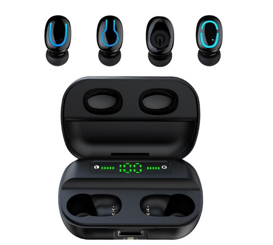 30 1 шт I31 TWS Bluetooth 5.0 наушники Беспроводные наушники Правда стерео музыку с сенсорным управлением Auto Сопряжение бинауральные вызовы # OU944
