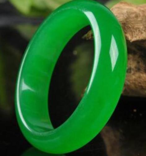 Green Certified 100/% Natural Royal nephrite jade jadeite bracelet 56mm-63mm