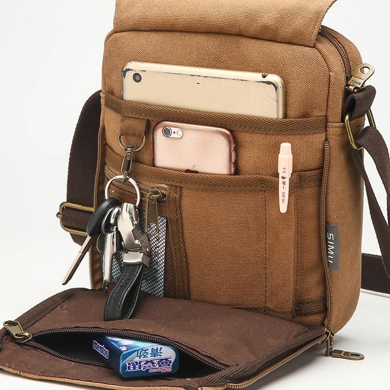 Carry Urban Every Day Men CrossbodyBag Novo Design Masculino Shoulder Bag Casual pequeno Sling Messenger Bag para celular mochila T200206
