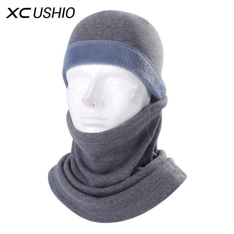 Winter verdicken Skimaske Full Face Winddichtes Warm Unisex Fleece-Material Skifahren Radfahren Maske Schal Fahrrad Snowboard Outdoor-Sport