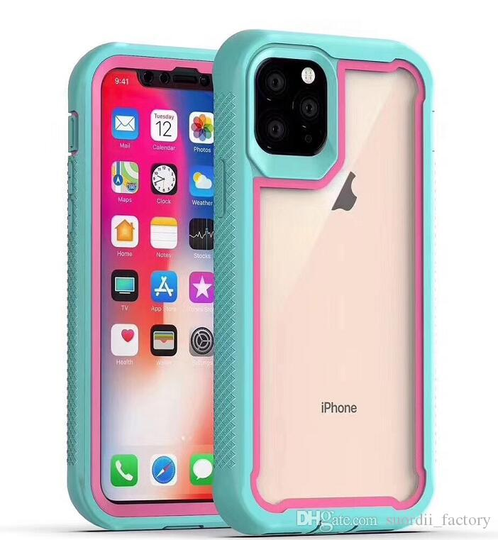 New Hybrid Defender Robot Silicone Cover Case for iPhone 11 pro max Xr 8 7 Plus Samsung galaxy S10 plus A10e A50 A40 A30