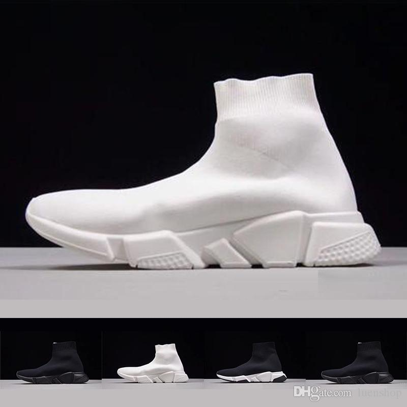Acheter Adidas Balenciaga BoostChaussette Chaussette Speed Trainer  Chaussures De Course De Haute Qualité Baskets Speed Trainer Chaussettes  Race ...