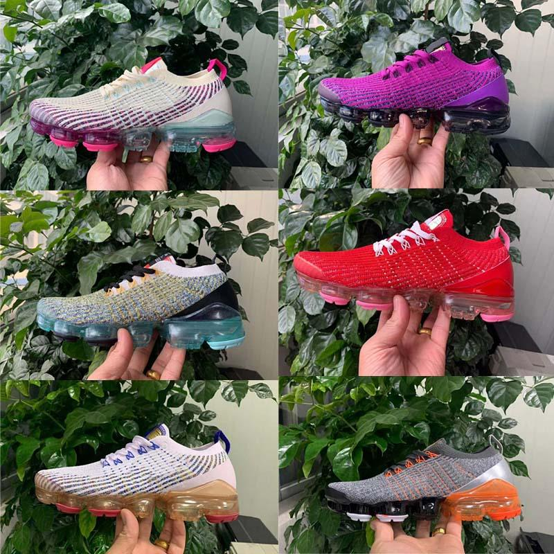2020 Volt Triplo Branco Cinder Grey Black Dusty Cactus Sapatilhas 2,0 Knit 3.0 South Beach Homens Mulheres Running Shoes