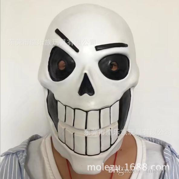 Hot Sale Game Undertale Mask Cosplay Kids Adlut Luminous Masks Halloween Fancy Ball Sans Latex Helmet Props Masquerade Masks Purple Masquerade Masks Red From Tmon1961 20 1 Dhgate Com