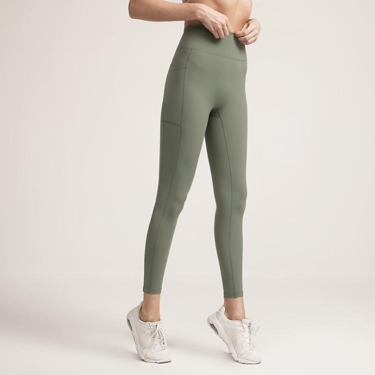 Mulheres Fitness Leggings ioga Calças de Cor Sólida Workout Esportes Ginásio Vestuário Cintura Alta Push Up Calças Elásticas Lady Sexy Tights KT1 XJRVR