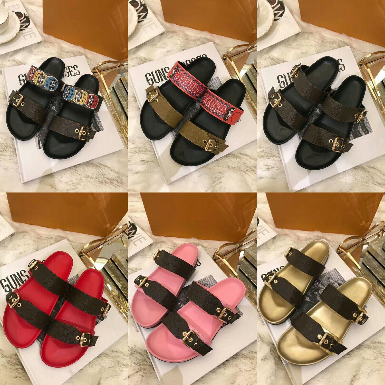 Hot Sale-rsandals designer de mode pour femmes chaussures hommes en cuir véritable avec sac de poussière Livraison gratuite.