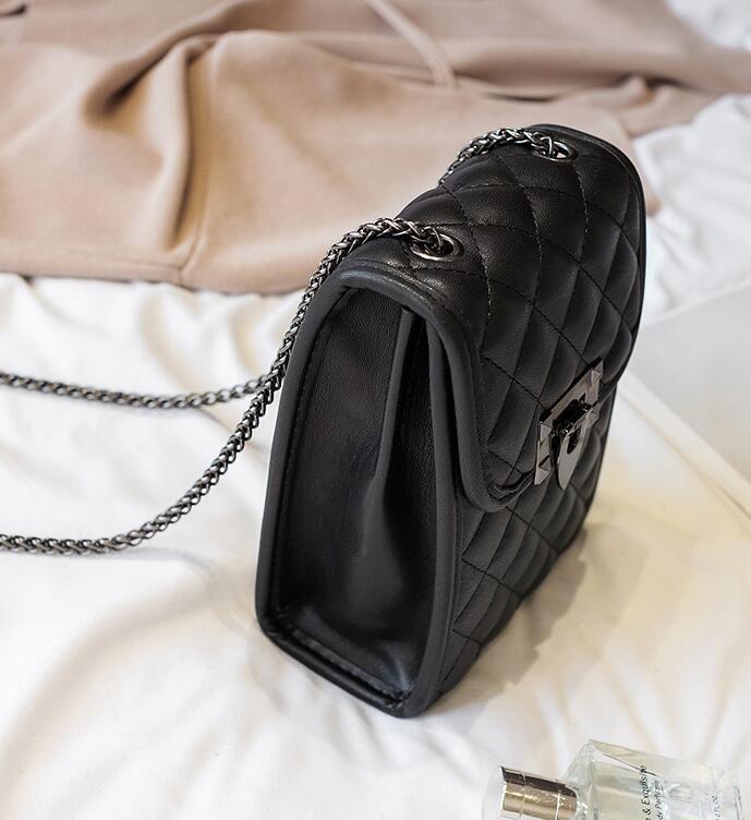 Borse a tracolla dal design di lusso Borse Portafogli da donna Crossbody Bag Mini diamante del telefono Chain della grata Bag