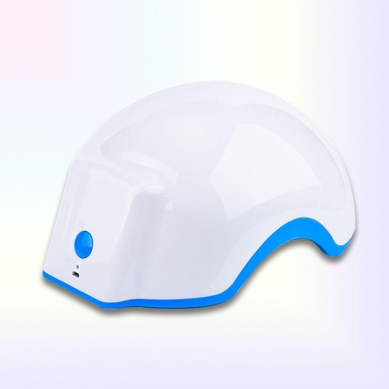 두피 장치의 전체 범위에 대한 의학 레이저 머리 재성장 헬멧 678nm 다이오드 적외선 치료 탈모 레이저 헬멧