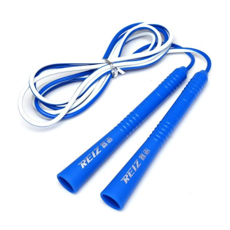 Crossfit Fitness Equipment Adjustable PVC Rope Length Jumping Bodybuilding Exercise Skipping Rope 378