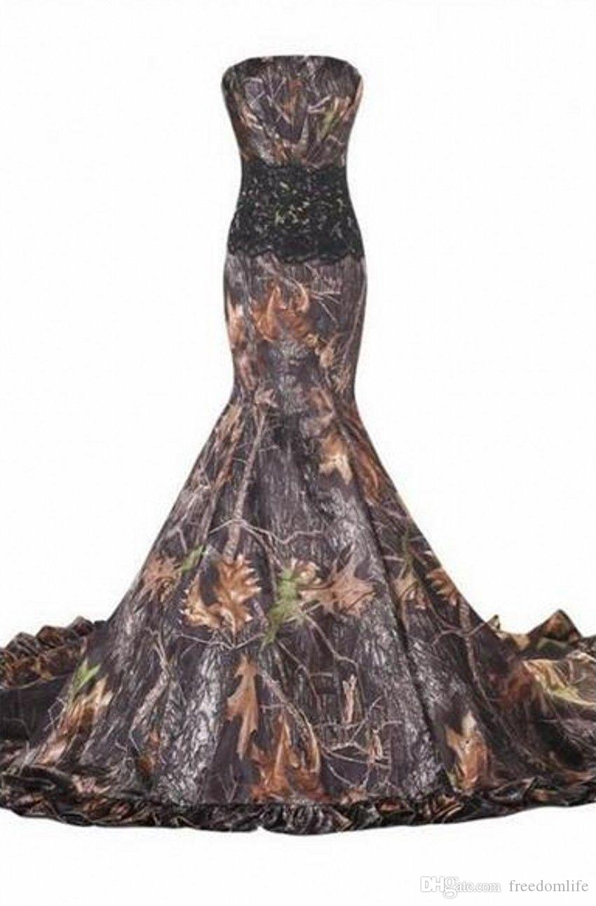 2019 New Mermaid Realtree Camo Wedding Dresses Sweetheart Lace Up Appliques Cheap Camouflage Bride Bridal Gowns Custom Made Mermaid Wedding Dresses Cheap Mermaid Wedding Dresses Lace From Freedomlife 118 9 Dhgate Com,Evening Dresses For Wedding Guest