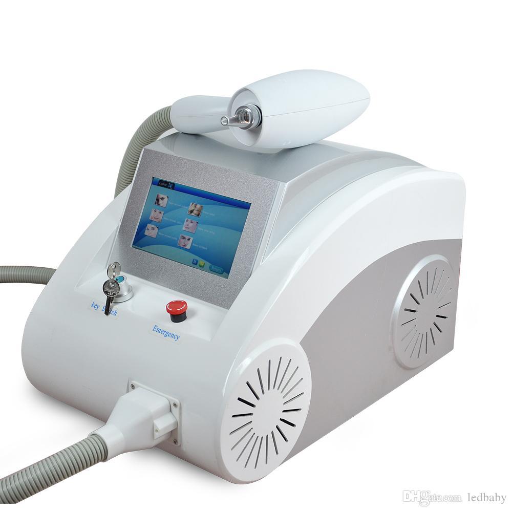 VENDITA CALDA portatile di rimozione del tatuaggio del laser ND Yag 1064 nm 532nm del laser yag nd DHL