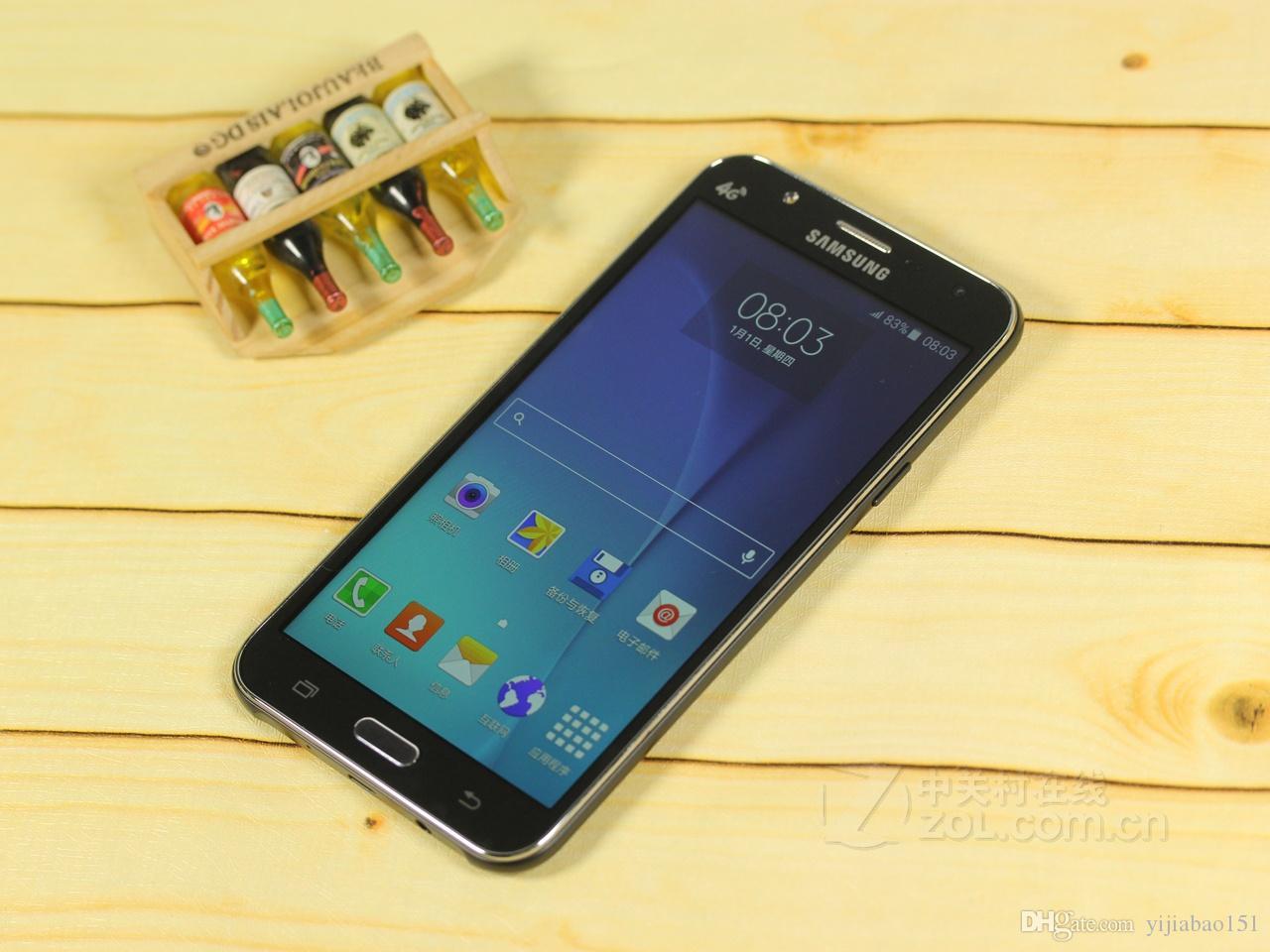 Generalüberholtes Original Samsung Galaxy J7 J700F Dual-SIM 5,5-Zoll-LCD-Bildschirm Octa Core 1,5 GB RAM 16 GB ROM 13 MP 4 G LTE-Telefon entsperrt