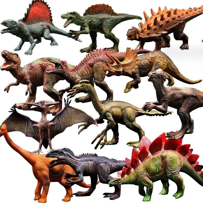 الحديقة الجوراسية ديناصور نموذج للحصول على الطفل التنين لعبة مجموعة بنين فيلوسيرابتور العمل الحيوان لعب الشكل 25 نمط بالجملة