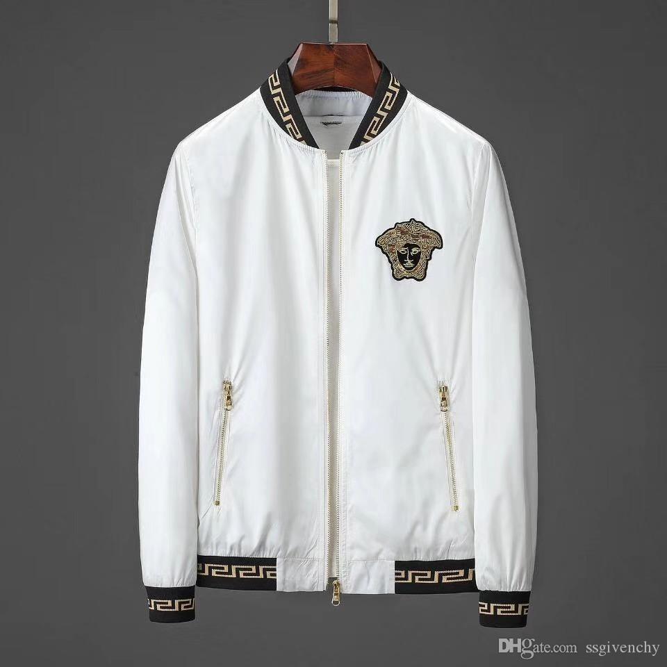 Caliente 2019 el nuevo del diseñador de los hombres de la chaqueta del invierno chaqueta de la ropa de manga larga de los hombres de la medusa Outdoorwear los hombres y de la chaqueta M-3XL