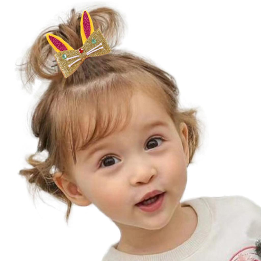 Çocuklar Bebek Kız bebekler Karikatür Gökkuşağı Saç Firkete Tokalarım Şapkalar Seti Motifler Klip Güzel Saç Aksesuarları Set Klip