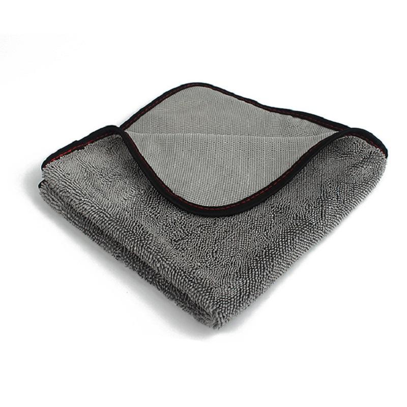 تطور بايل 600 GSM ستوكات السريع تجفيف سوبر ماص منشفة خدش مجانية العناية بالسيارات تنظيف القماش الخالي من الوبر غسل خرقة