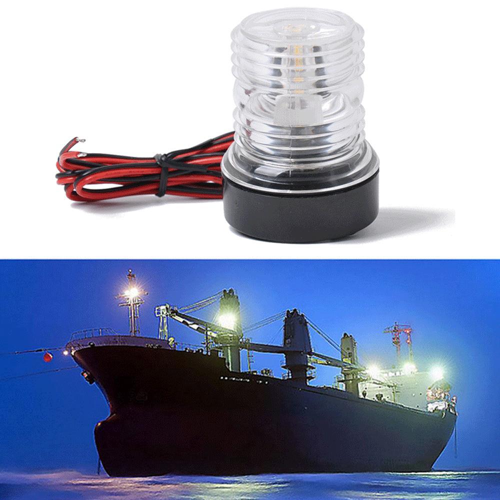 12V 10WMarine Boat Yacht Anchor Light  All Round 360 Degree Navigation Light
