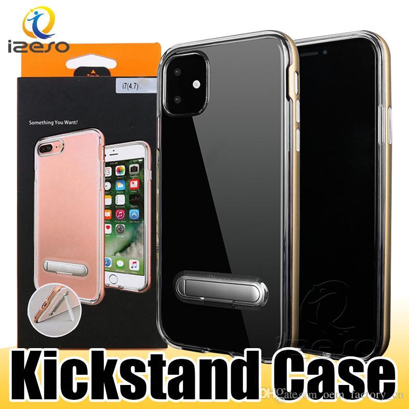 Per iPhone 11 XS MAX XR SGP Kickstand per Samsung S20 Nota 10 S10 ibrida Armatura Portector Coprire con izeso imballaggio al dettaglio