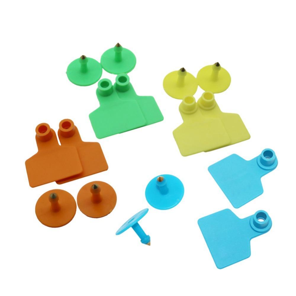 pig ear tags 3 colors no word animal identification label farm equipment animal livestock feeding supplies pet products