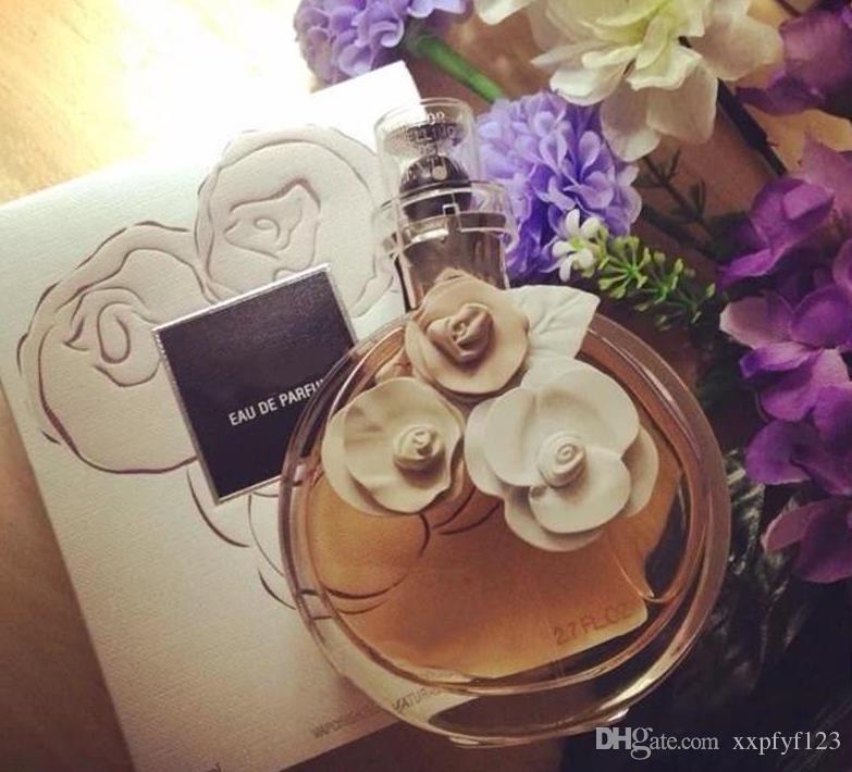 XXP Rose Flower Perfume de Alta Qualidade 80ml Eau de Parfum para Mulheres Exclusivo Design Atraente Fregrance Rápido Frete Grátis Durando Muito tempo